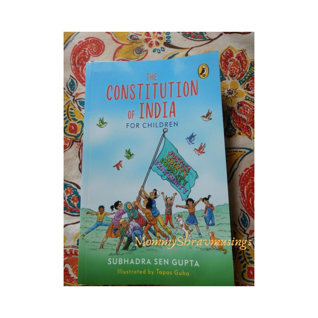Books, Books for Children, Constitution of India, Subhadra Sen Gupta, Puffin Books