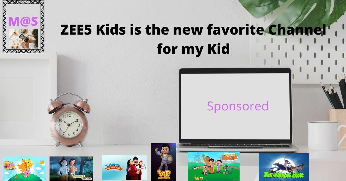MommyShravmusings, ZEE5 Shows reviews, ZEE5, ZEE5 Kids Shows, Kids Shows, Popular Kids Shows, Sponsored Posts
