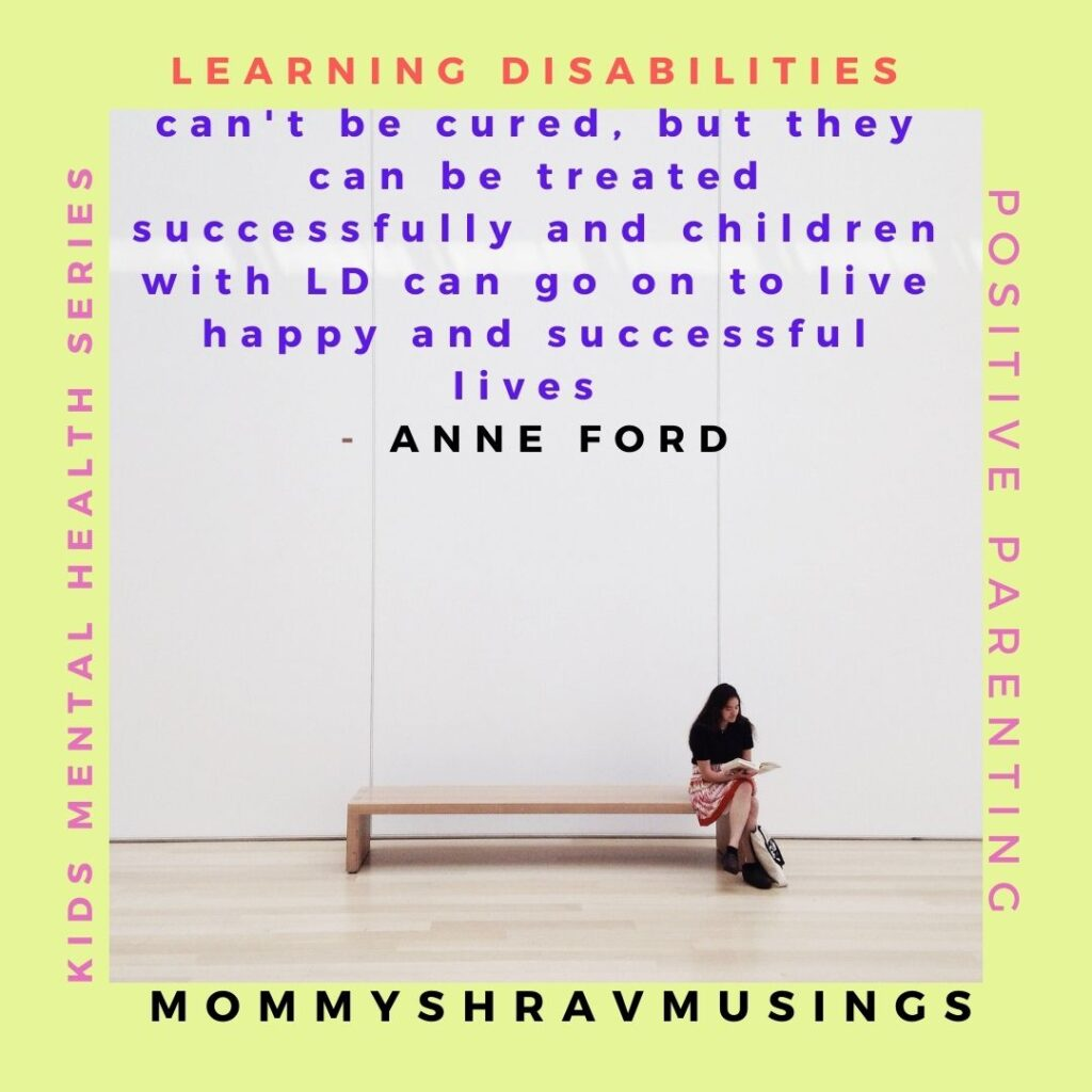 Tips to identify the Learning disabilities in Kids