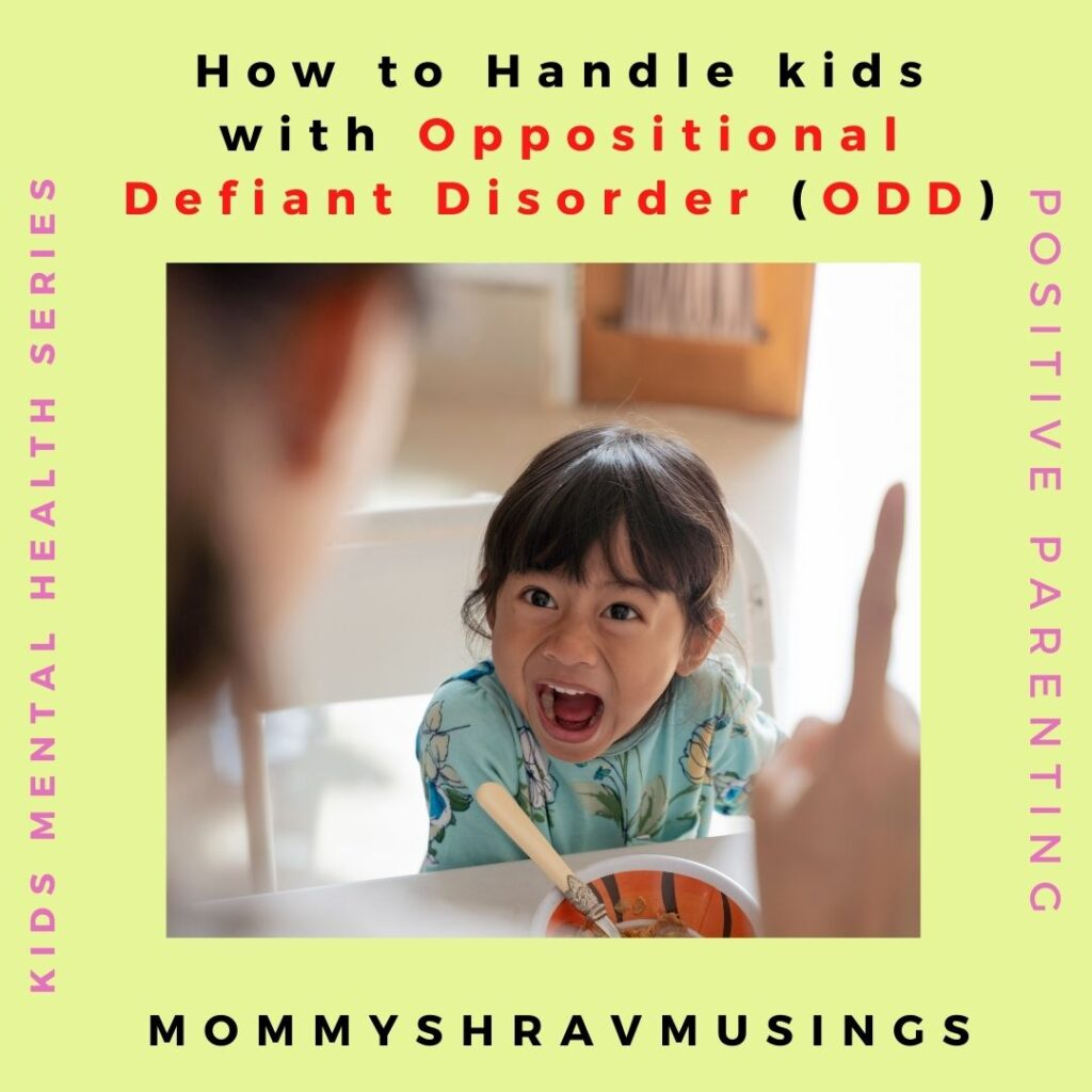 How to Handle Kids with ODD?