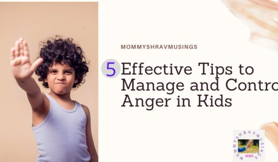 Tips to Manage and Control the Anger in Kids