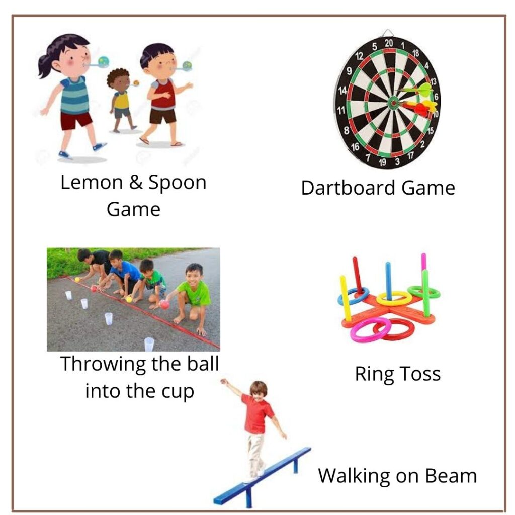 Outdoor Games that aid in the Concentration improvement for Kids
